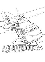 Blade Ranger Kleurplaat Worksheets Disney Planes Birthday