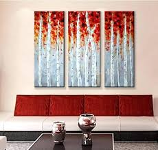 abstract canvas wall art sets the abstract new city oil painting hand painted 4 piece framed 3 piece canvas wall art set