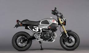 custom honda grom scrambler concept one two motorcycle pictures honda pro kevin