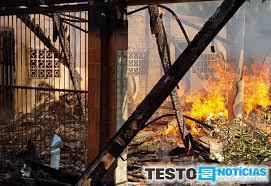 Família que perdeu tudo em incêndio precisa de auxílio - Geral - Testo  Notícias