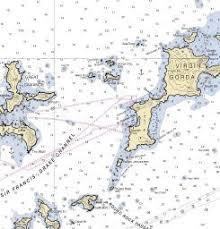 Bvi Navigation Charts Nautical Charts Of The Bvi To Help Plan A Bvi Sailing