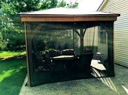 gazebo mosquito netting photo 1 of 7 black curtains tracking awesome net home depot ga good mosquito curtains home depot