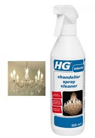glass crystal chandelier cleaning cleaner spray 500ml simply spray on drips off