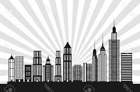 theme urban photostock vector buildings icon big city architecture and