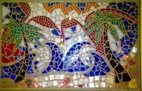 broken glass mosaic broken glass mosaic broken glass mosaic ideas