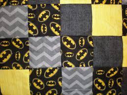 The 25+ best Batman quilt ideas on Pinterest | Crochet batman ... & Batman Patchwork Quilt by GoughGoodies on Etsy Adamdwight.com