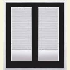 french doors with blinds. Plain With Prehung Mini Blind Steel Patio Door With  Throughout French Doors With Blinds N