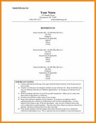 Microsoft Word Job Resume Template Job Reference List Samplermat Uk Example References In