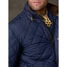 Lyst - Polo ralph lauren Cadwell Quilted Bomber Jacket in Blue for Men & Gallery Adamdwight.com