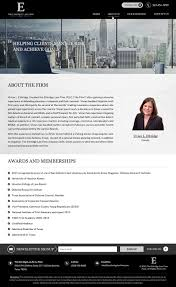University Of Houston Web Design Bold Modern Legal Web Design For The Ethridge Law Firm