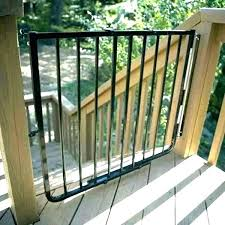 dog door ramp fascinating baby gates for dogs outdoor stair gate deck stairs build side dog door ramp