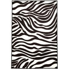 pink black white zebra carpet rug clipart