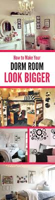 How To Make Your Room Look Bigger 6 Tips To Make Your Dorm Room Look Bigger Society19