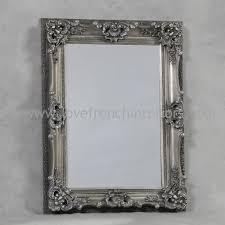 antique silver french mirror 4693 p jpg