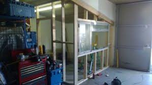 how to build an office. Unique Office Framing Window On How To Build An Office E