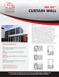 pbs 383 curtain wall 1 1 pages