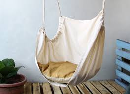 diy canvas hammock make a hammock chair step 14