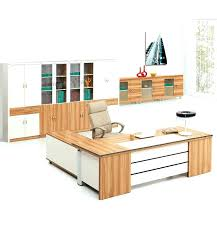 white wood office furniture. White Wood Office Desk Maple And With Long Cabinet Chair Arms Furniture