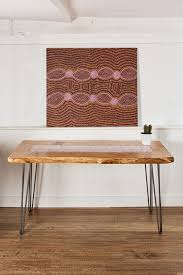 bay gallery home my country dining table australian aboriginal art uk central desert made in on ceramic wall art tiles australia with bay gallery homeaustralian aboriginal furniture