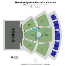 Qualified Planet Hollywood Showroom Seating Chart Planet