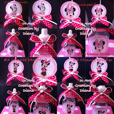 Minnie Mouse Baby Shower Decorations Minnie Mouse Baby Shower Gift Bags Gifts