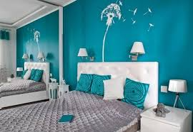 bedroom wall decorating ideas for teenage girls. Aqua Blue Wall Color With Satin Throw Pillows For Elegant Teenage Girl Bedroom Decor Decorating Ideas Girls I