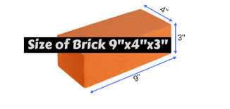 Imperial Brick Sizes Chart Online Bricks Calculator 2019 Best And Most Accurate
