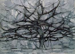 the gray tree 1912 piet mondrian