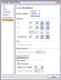 Enhancing A 3 D Chart In Excel 2007 Dummies