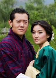 His Majesty Jigme Khesar Namgyel Wangchuck, the King of Bhutan and Her Majesty Queen Jetsun Pema Wangchuck