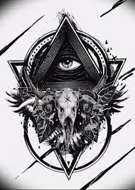 Photo Eye In Triangle Tattoo 03032019 232 Idea For Eye In