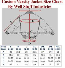Fleece Jacket Size Chart Latud Womens Varsity Uniform Baseball Boyfriend Athletic