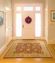Oriental Rug for an Elegant Foyer traditional-entry