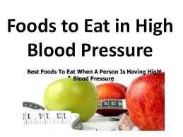 Foods To Eat In High Blood Pressure In Hindi I