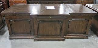 cal mode executive desk and credenza