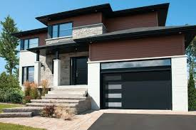 Modern Garage Door Faux Wood Glass Cost cavinitourscom