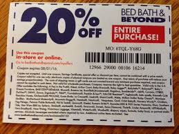 Bed Bath And Beyond Coupon 20 Off Entire Purchase 2018