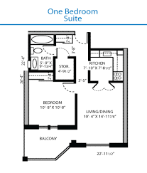 Floor Plan One Bedroom Suite   Measurements May Vary From Actual Units Floor  Plan One Bedroom Suite   Measurements May Vary From Actual Units