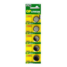 Купить <b>Батарейка</b> дисковая литиевая тип <b>CR2025</b>, <b>GP</b> (5шт в ...