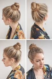 30 buns in 30 days day 20 top knot bun
