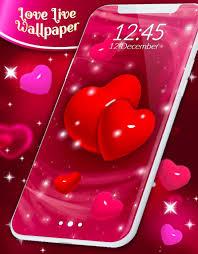 Love Live Wallpaper ❤️ 3D Hearts Free ...
