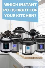 Instant Pot Comparison Chart 2019 Pressure Cooker Tips