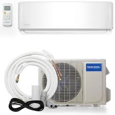 advantage 18 000 btu 1 5 ton ductless mini split air conditioner and
