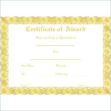 Scholarship Certificate Template Format Download