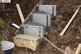 Wenn sie eine treppe aus holz selber bauen sind ihren eigenen vorstellungen und wünschen kaum grenzen gesetzt. Aussentreppen Und Gartentreppen Selber Bauen Diytueftler Und Heimwerker De
