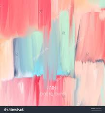 Stock Vector Abstract Oil Painting Teture Hand Drawn Paint Brushes  Background Pastel Color Palette