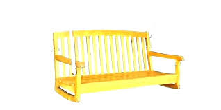 wooden porch swing for swings hanging wood used yard