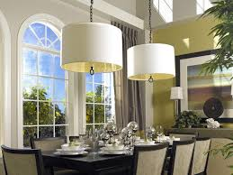 dining room chandeliers with fabric shades chandelier