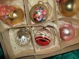 Konvolut Alter Christbaumschmuck 12 Weihnachtskugeln Türkis