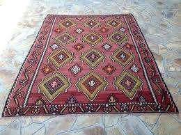 image 0 large red area rug x muted large red modern rug